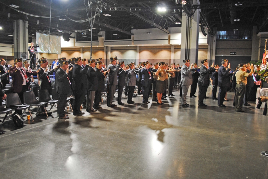 Swearing in of all National Officers